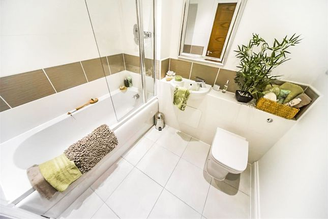 Thumbnail Town house for sale in Margaret Close, Thurmaston, Leicester