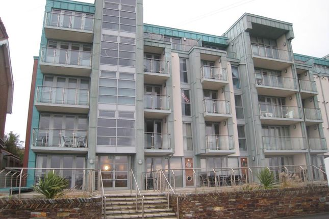 Thumbnail Flat to rent in Zinc, 2-10 Headland Road, Newquay, Cornwall
