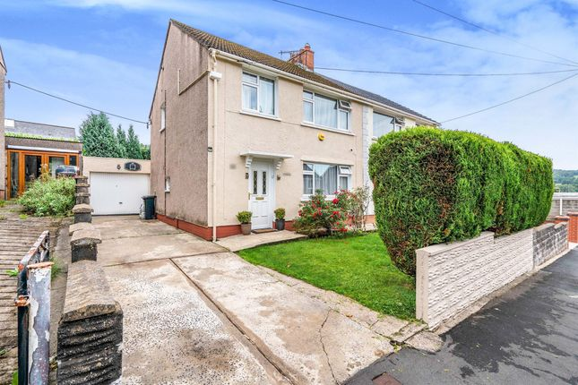 Thumbnail Semi-detached house for sale in Dulais Drive, Aberdulais, Neath