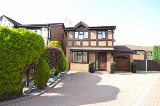 Thumbnail Detached house for sale in Wyswall Close, Halewood, Liverpool