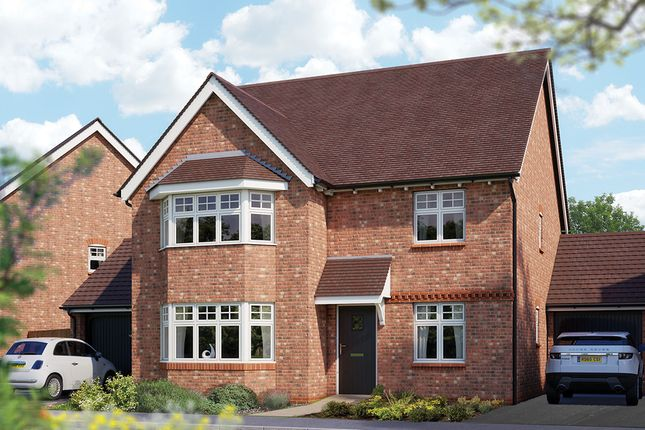 "Thumbnail Detached house for sale in ""The Oxford"" at Crewe Road, Haslington, Crewe"