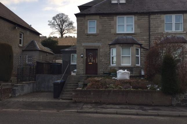 Front of 38 Edinburgh Road, Peebles EH45