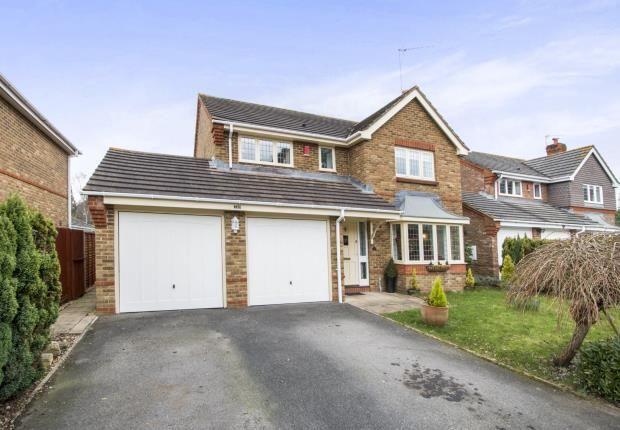 Thumbnail Detached house for sale in West Moors, Ferndown, Dorset