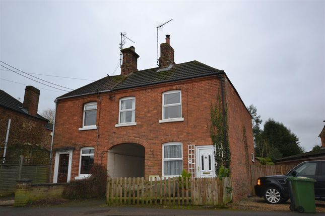 Thumbnail Semi-detached house for sale in Manor Road, Dersingham, King's Lynn