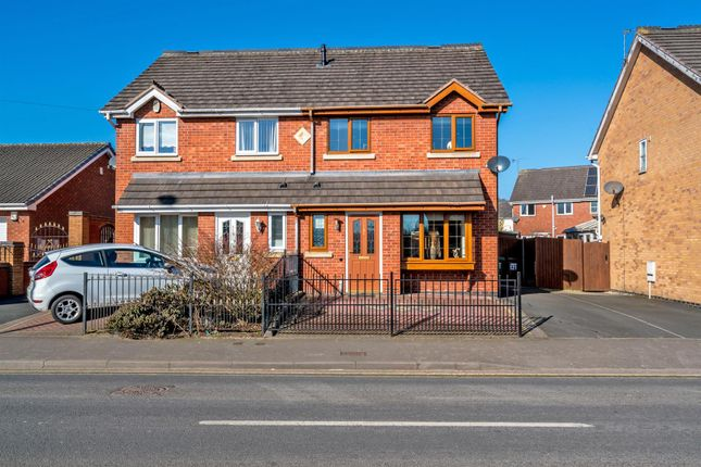 Thumbnail Semi-detached house for sale in Bloxwich Road North, Willenhall
