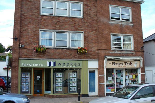 Thumbnail Flat to rent in Magdalen Road, St. Leonards, Exeter