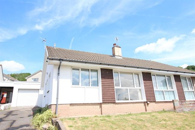 Thumbnail Semi-detached bungalow for sale in Three Oaks Close, Bedwas, Caerphilly