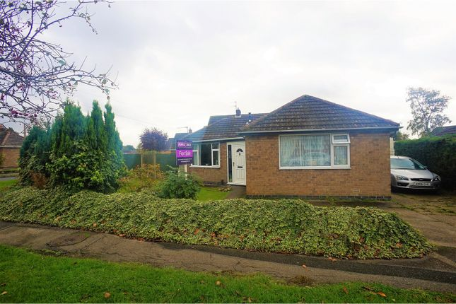 Thumbnail Detached bungalow for sale in Torksey Avenue, Saxilby