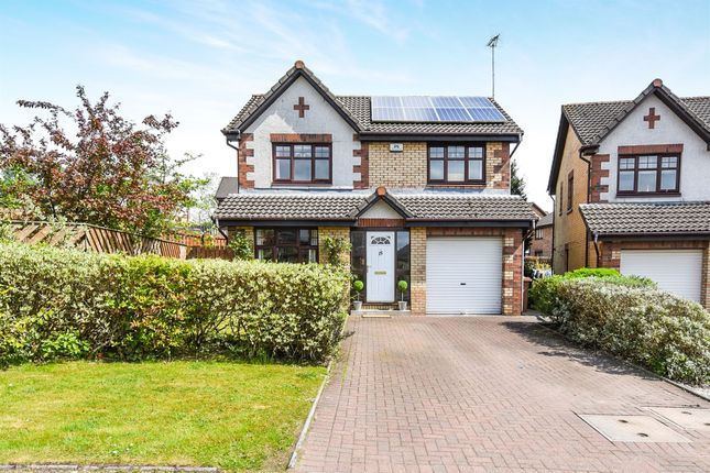 Thumbnail Detached house for sale in Leglen Wood Crescent, Robroyston, Glasgow
