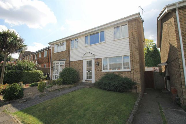 Thumbnail Semi-detached house to rent in Chatsworth Drive, Sittingbourne