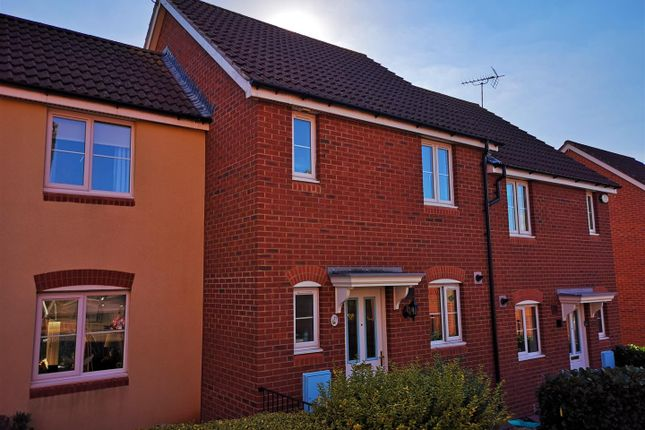 Thumbnail Terraced house to rent in James Stephens Way, Thornwell, Chepstow