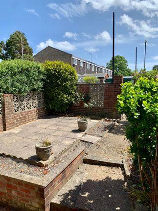 Garden of Manor Road North, Southampton SO19