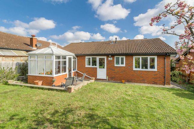 Thumbnail Detached bungalow for sale in Milesmere, Two Mile Ash, Milton Keynes