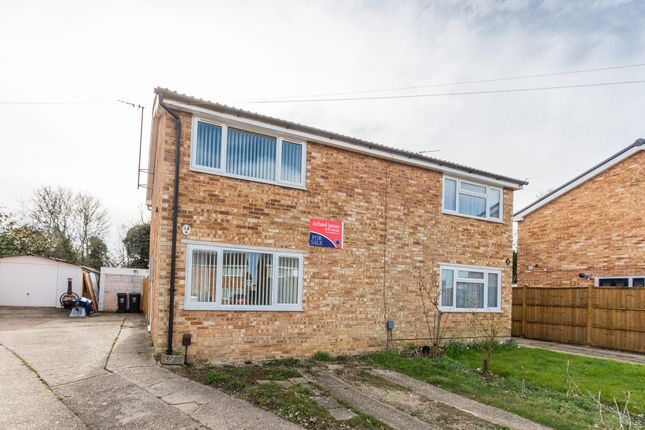 Thumbnail Semi-detached house for sale in Priors Close, Rushden