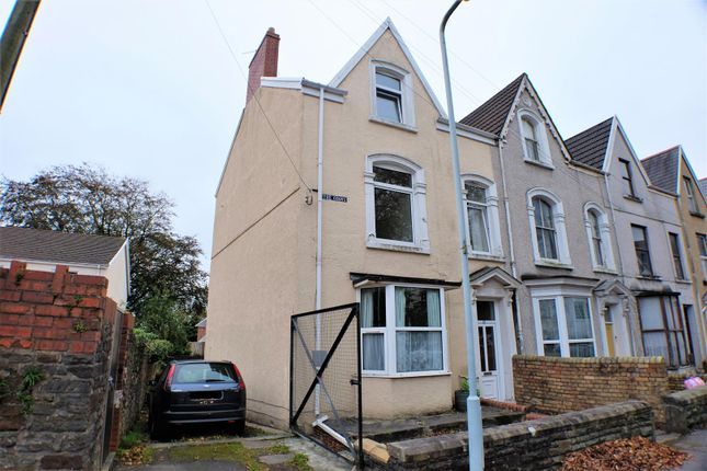 Thumbnail End terrace house for sale in The Grove, Uplands, Swansea