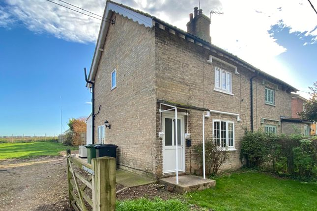 Thumbnail Semi-detached house to rent in Feltwell Road, Methwold Hythe, Thetford