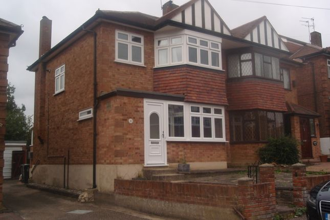 Thumbnail Semi-detached house to rent in Stewards Close, Epping