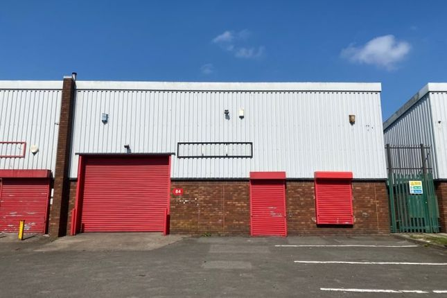 Thumbnail Industrial to let in Unit 84 Portmanmoor Road Industrial Estate, Cardiff