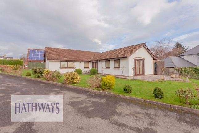 Thumbnail Detached bungalow for sale in Tynewydd Farm Close, Pontnewydd, Cwmbran