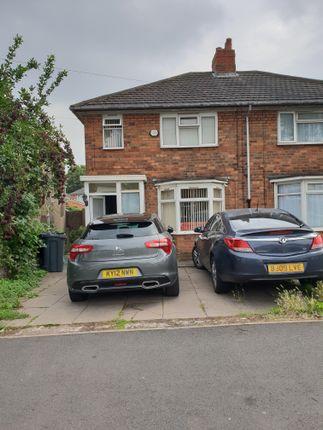 Thumbnail Semi-detached house for sale in Norton Crescent, Birmingham