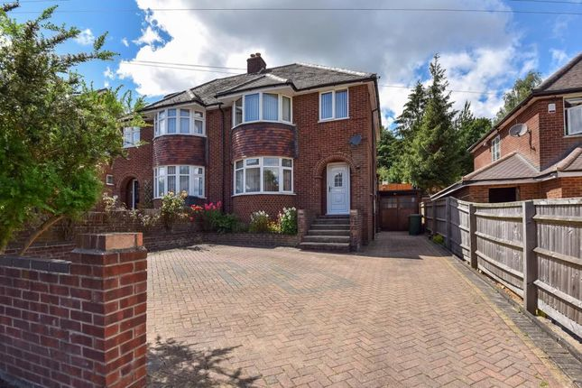 Thumbnail Semi-detached house for sale in Desborough Avenue, High Wycombe