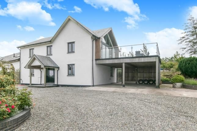 Thumbnail Link-detached house for sale in Carmel, Llanrwst, Conwy, North Wales