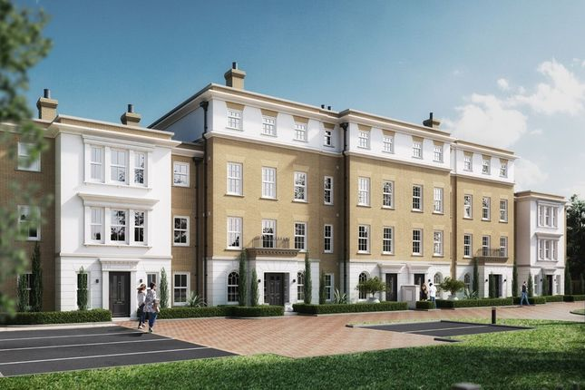 Thumbnail Town house for sale in Shirehall Way, Bury St. Edmunds