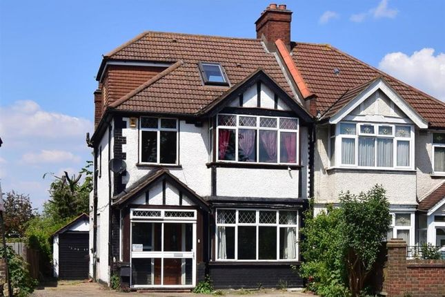 Thumbnail 4 bed semi-detached house for sale in Stafford Road, Wallington, Surrey