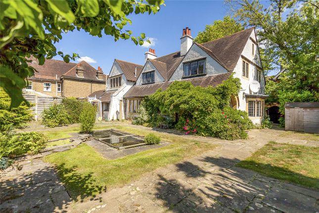 Thumbnail Detached house for sale in Hillside Road, Bushey, Hertfordshire