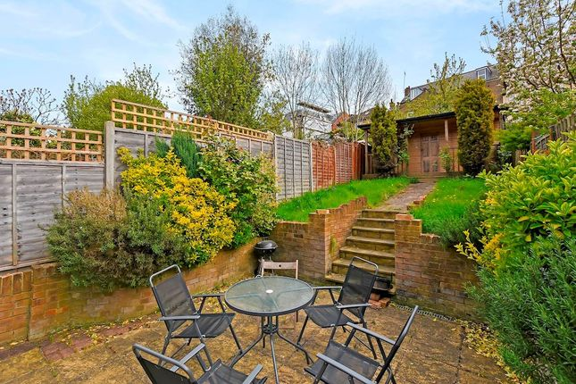 Thumbnail Terraced house to rent in Palace Gates Road, London