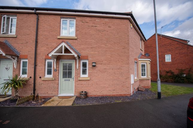 Thumbnail Semi-detached house for sale in Calder Gardens, Bingham, Nottingham