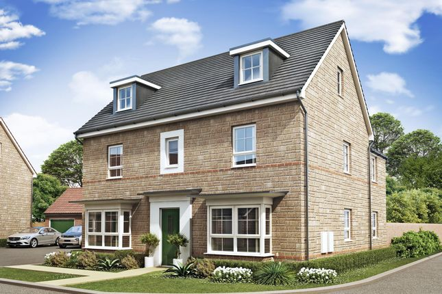 "Thumbnail Detached house for sale in ""Marlowe"" at Marsh Lane, Leonard Stanley, Stonehouse"