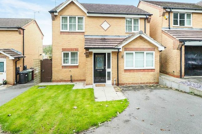 Thumbnail Detached house for sale in Bracken Road, Shirebrook, Mansfield, Derbyshire