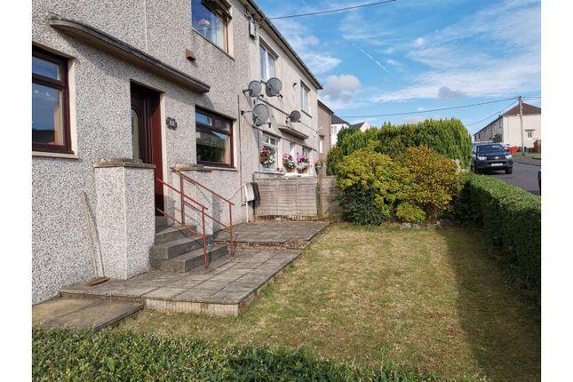 Front Garden of Glenlamont, Cumnock KA18