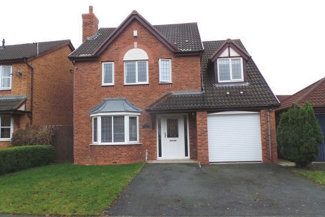 4 bed detached house for sale in Bluebell Way, Bamber Bridge, Preston