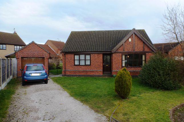 Thumbnail Detached bungalow to rent in Lodge Close, Welton, Lincoln