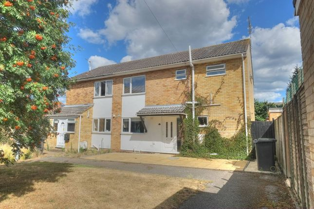 Thumbnail Semi-detached house for sale in St. Davids Close, Great Yarmouth