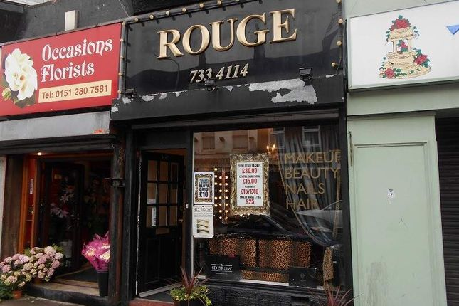 Retail premises for sale in Picton Road, Wavertree, Liverpool