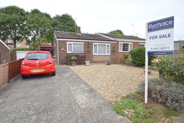 2 bed semi-detached bungalow for sale in Chapple Drive, Haverhill