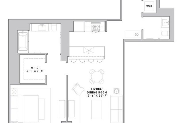 1 bed property for sale in 121 East 22nd Street, New York, New York State, United States Of America