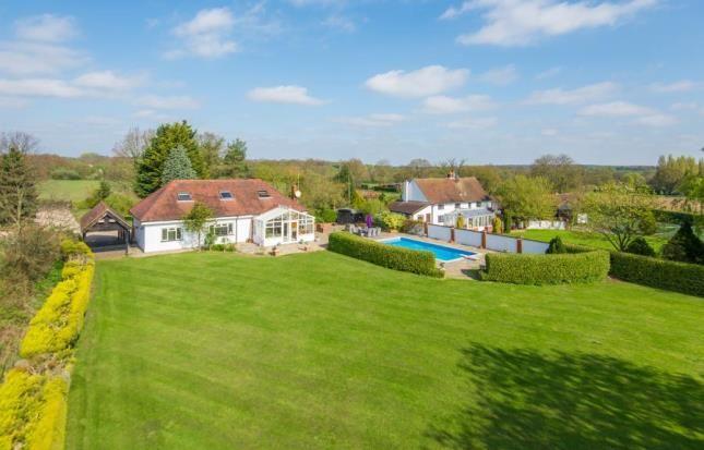 Thumbnail Detached house for sale in Mountnessing Lane, Doddinghurst, Brentwood, Essex