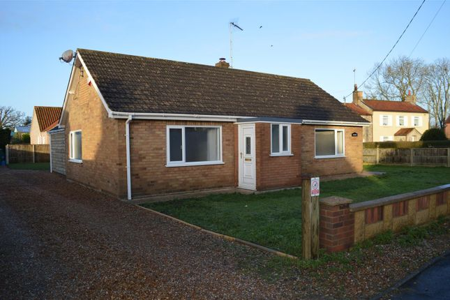 Thumbnail Detached bungalow for sale in Winch Road, Gayton, King's Lynn