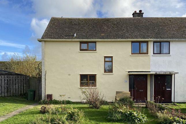 4 bed semi-detached house for sale in Traffwll Road, Caergeiliog, Holyhead LL65