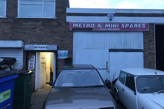 Thumbnail Parking/garage for sale in Eckersall Road, Kings Norton, Birmingham