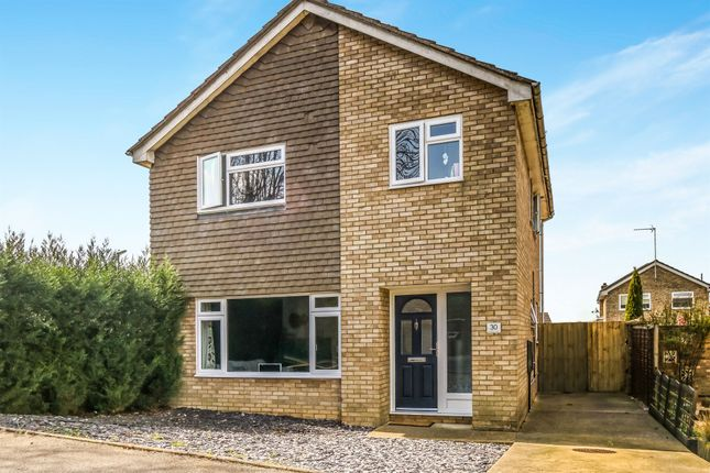 Thumbnail Detached house for sale in Navisford Close, Thrapston, Kettering