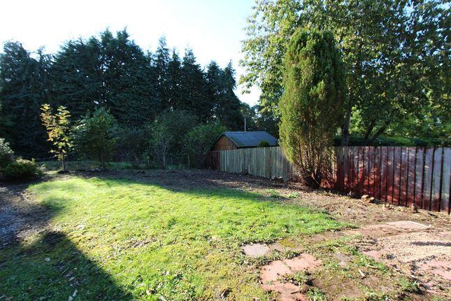 Rear Garden of 17 Caulfield Gardens, Cradlehall, Inverness IV2