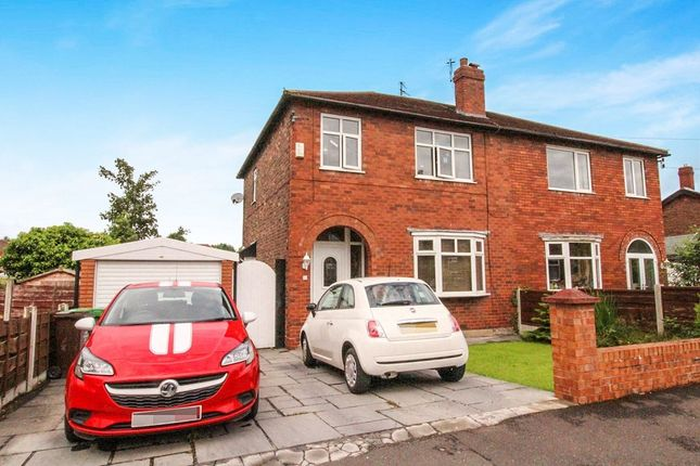 Thumbnail Semi-detached house for sale in Orville Drive, Burnage, Manchester
