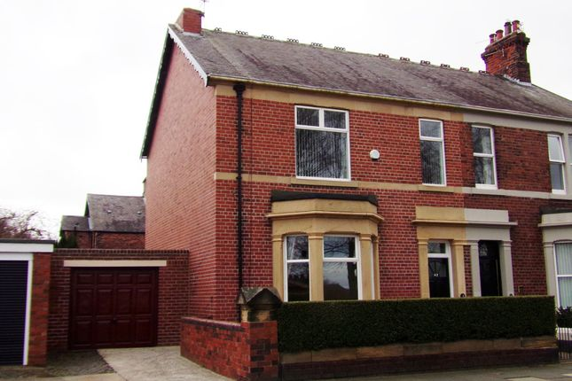 Thumbnail Semi-detached house for sale in Bede Burn Road, Jarrow
