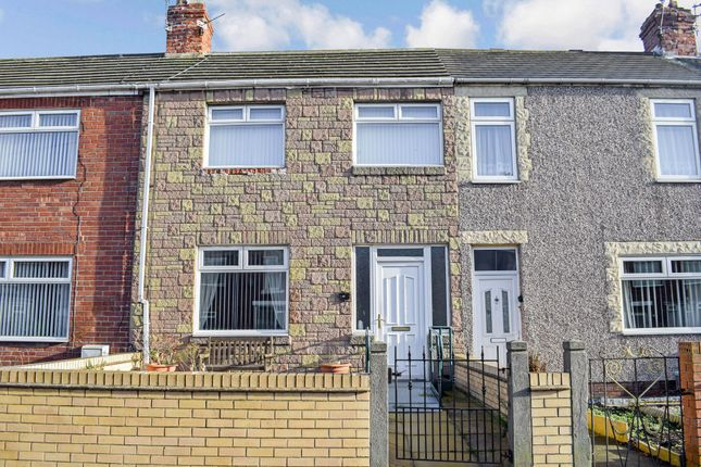 Terraced house for sale in North Seaton Road, Ashington