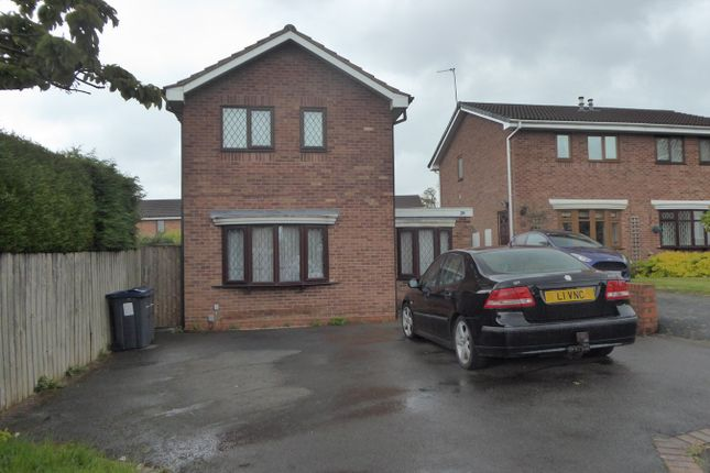Thumbnail Detached house for sale in Cookes Croft, Northfield, Birmingham